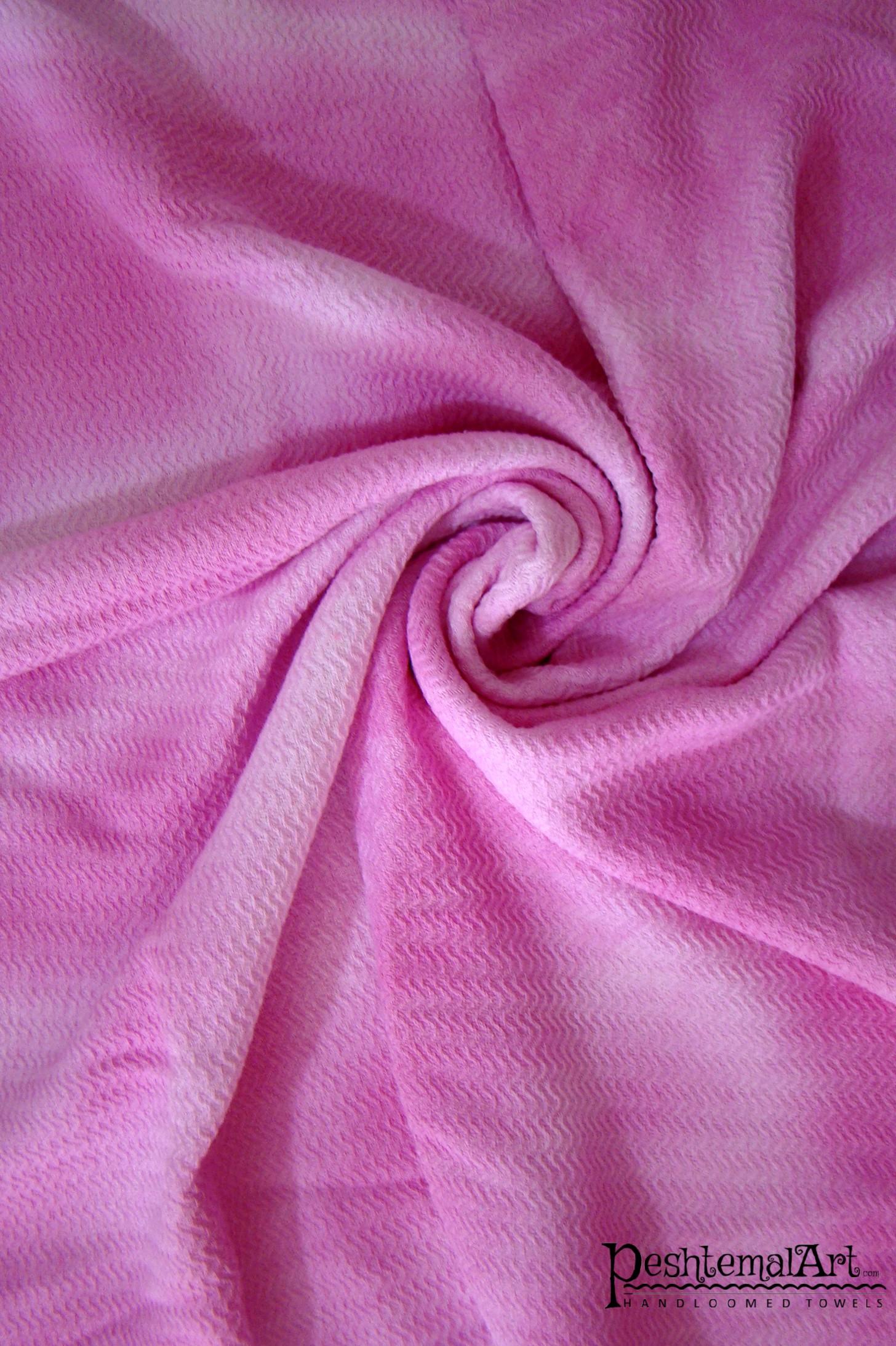 Pink Batik Beach Towel