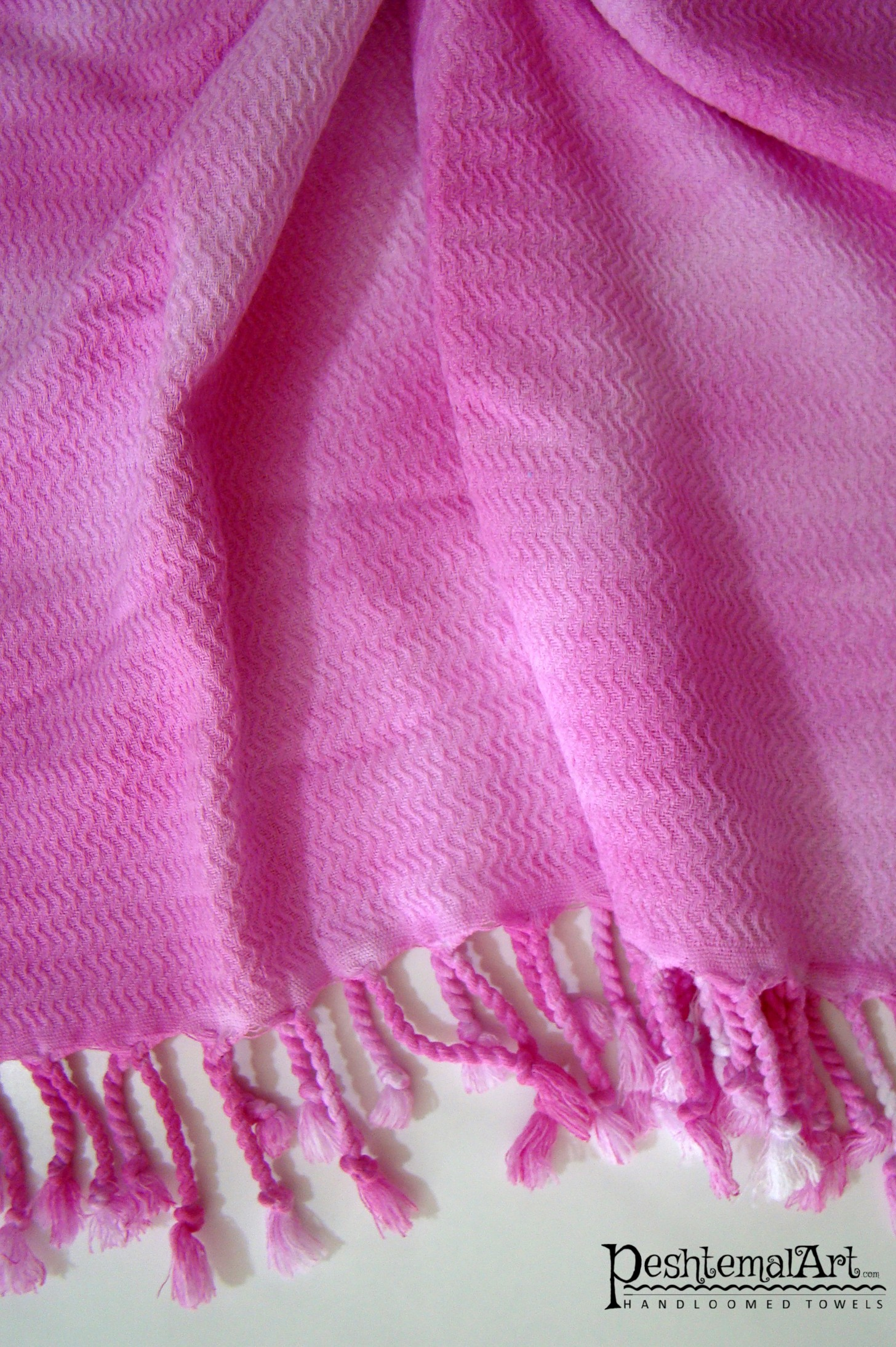 Pink Batik Beach Towel