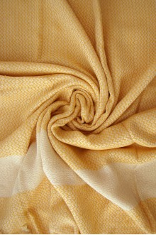 Lily Beach Towel - Yellow
