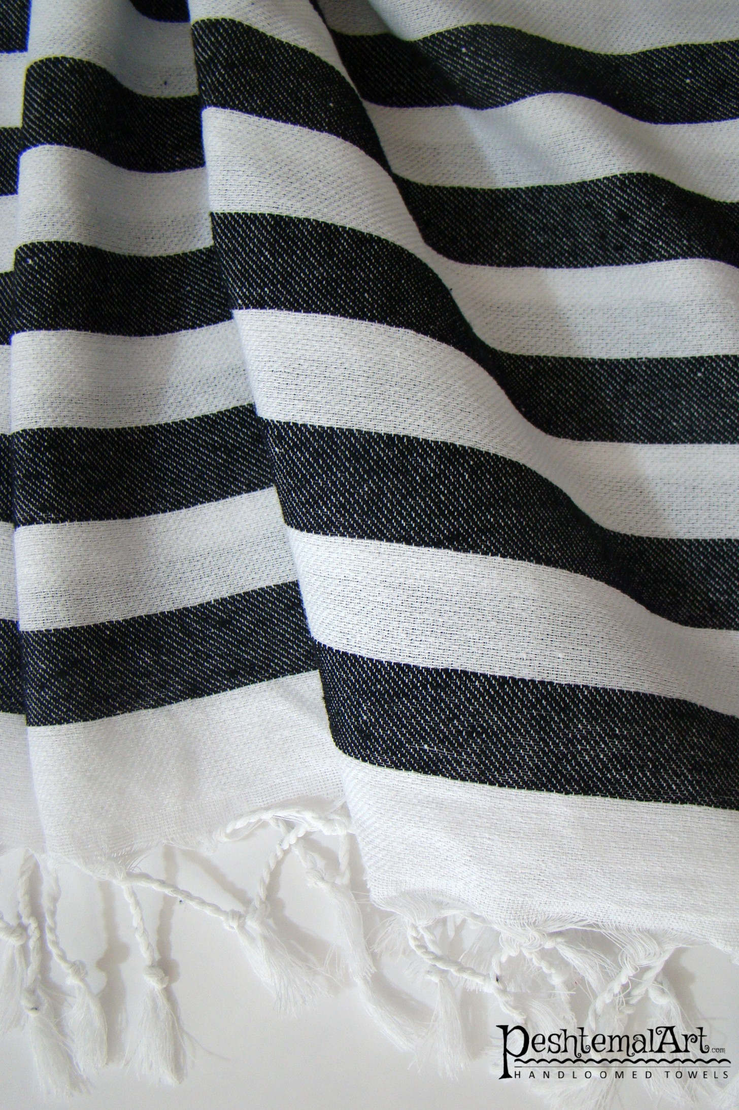 Black & White Zebra Beach Towel