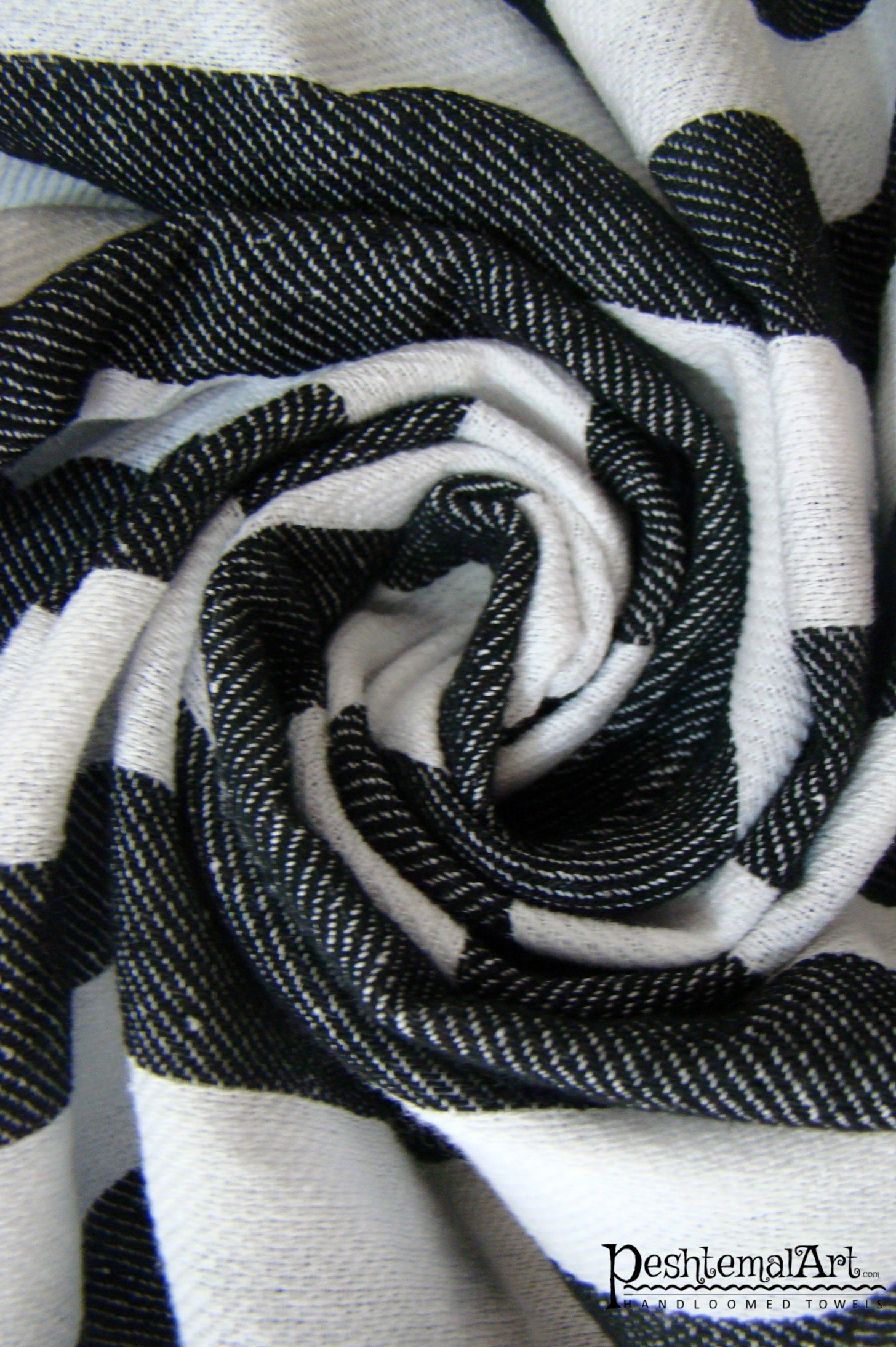 Black & White Zebra Beach Towel