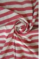 Red Zebra Beach Towel
