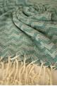 Turquoise Zigzag Beach Towel